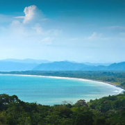 Golfo Dulce and Eartwatch in peninsula Costa Rica
