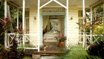 Cottage at Balenbouche Estate in St. Lucia