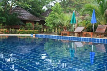 Faasai Resort Spa with pool and bungalows