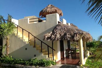Hotel Restaurant Maya Luna family bungalow
