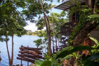 Jicaro Island Ecolodge-Nicaragua located on a private island