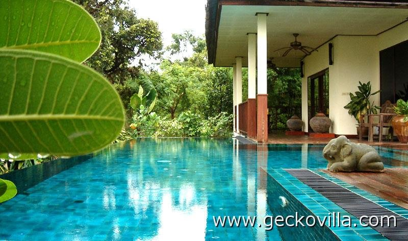 Gecko Villa Thailand Vacation Rental Eco Tropical Resorts