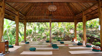 Yoga in nature in Bali, Indonesia