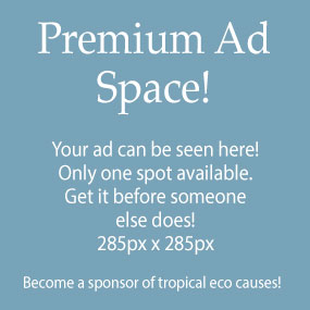 """Become a sponsor of Eco Tropical Resorts and help us support great """"eco"""" causes"""