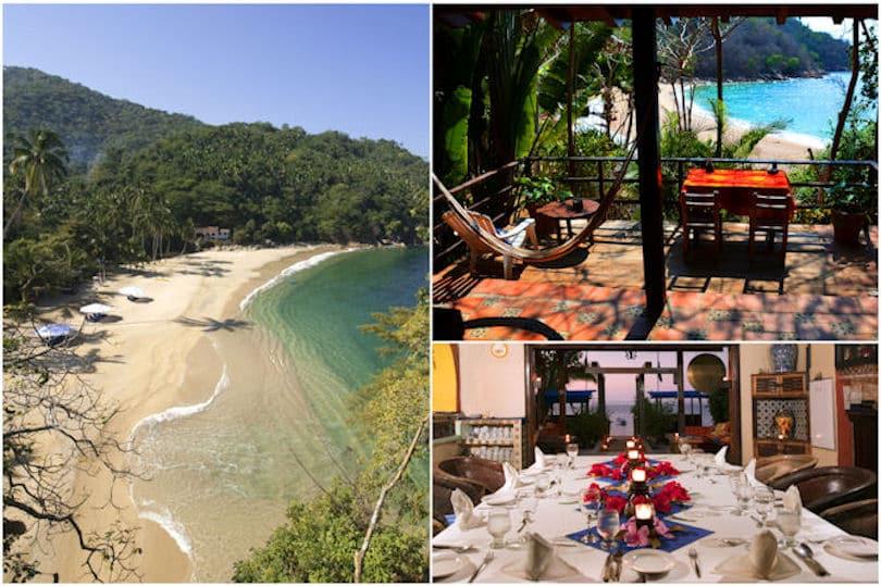 Majahuitas Resort on Bay of Banderas, Mexico