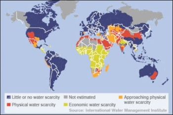 Water scarcity worlwide