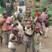 Batwa pygmies in Uganda