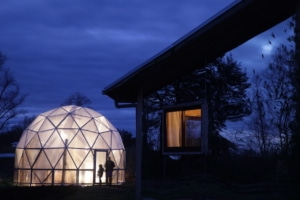 Organic Greenhouse and Volunteer Cabin