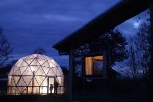 Organic Greenhouse and Volunteer Cabin