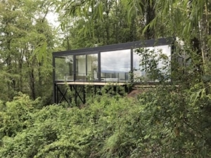 Recycled Shipping Container Cabin
