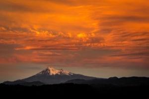 Volcano Llaima view