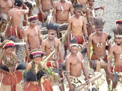 Papua New Guinea Eco Lodges-Tours - Tribal Natives