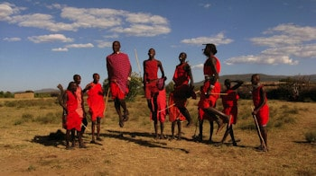 Kenya Eco Lodges-Tours Maasai Mara tribe